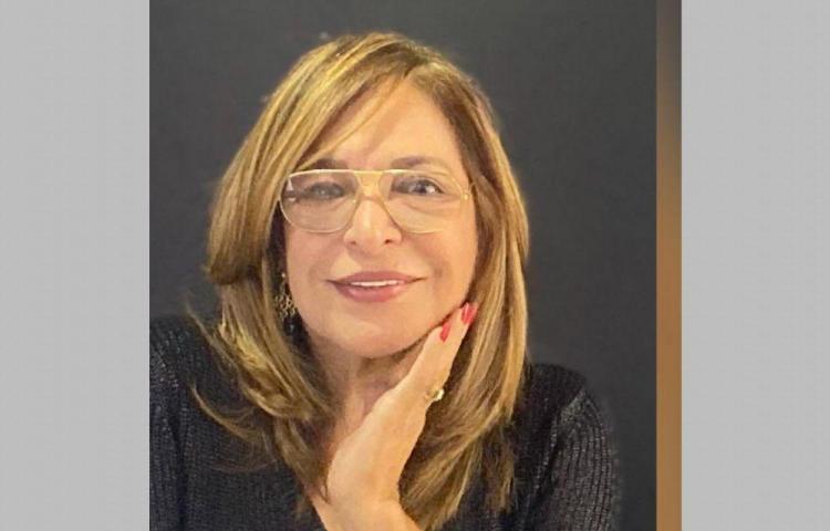Con la escritora Griselda López