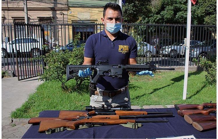 'Golpe importante' al tráfico de armas en América Latina