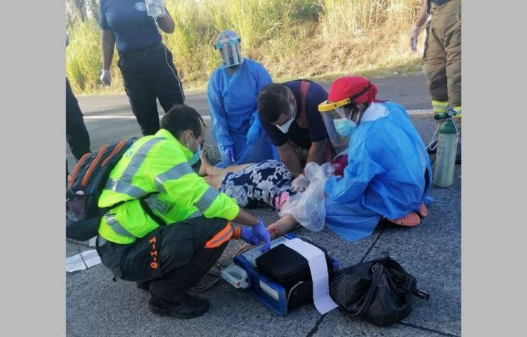 Mujer que iba para su trabajo fue arrollada y no sobrevivió