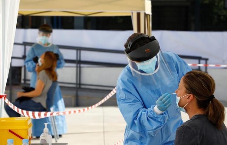 Italia suma 627 muertos por coronavirus, el peor dato desde principios de año