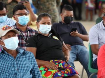 Ampyme destina $140 mil para emprendedores de la comarca Emberá-Wounaan
