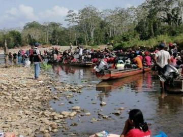 Cuatro migrantes murieron ahogados en Darién
