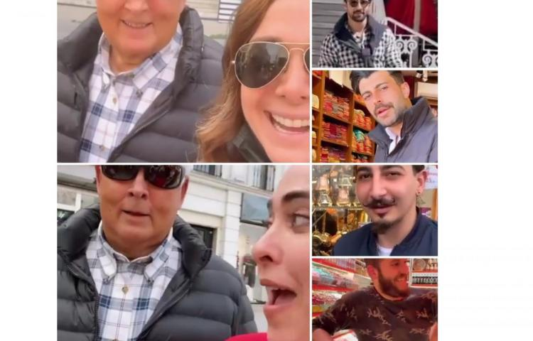 Bettina y el expresidente 'El Toro' se encuentran en Turquía