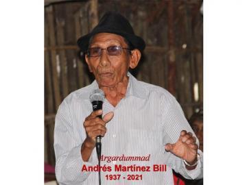 Fallece Argardummad Andrés Martínez Bill