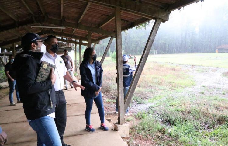 Defensoría verifica condiciones de la estación de migrantes de Gualaca