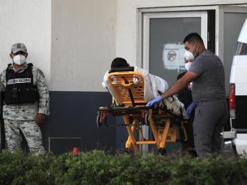 México reporta 582 nuevas muertes y acumula 213.4048 decesos por coronavirus