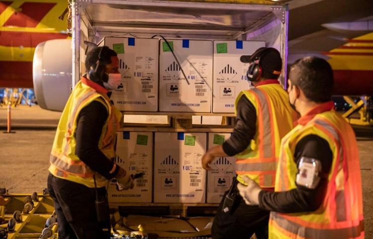 Panamá recibe onceavo lote de vacunas Pfizer