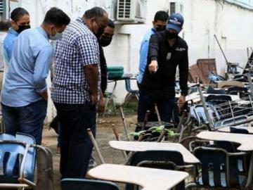 Realizan inspección de mobiliario y vehículos de escuelas en la ciudad