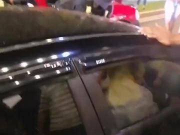 Tremendo revulú en Amador, colisión, fuga y supuesto estado etílico