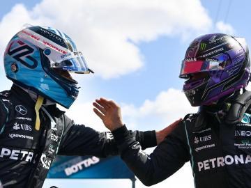 """Hamilton: """"No fue mi mejor vuelta, pero estoy contento"""""""