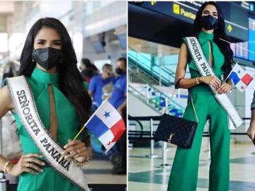 Señorita Panamá parte a EEUU con miras a participar en el Miss Universo