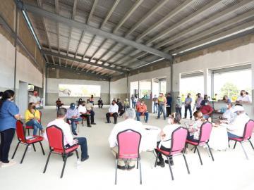 Reanudan construcción del colegio Miguel Alba de Soná