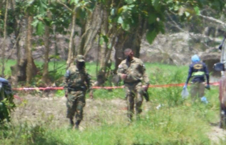 Macabro: Tres jóvenes fueron ejecutados en un arrozal en Barú