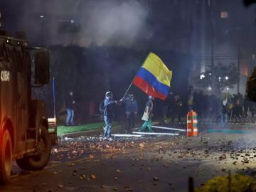 El papa, preocupado por enfrentamientos en Colombia