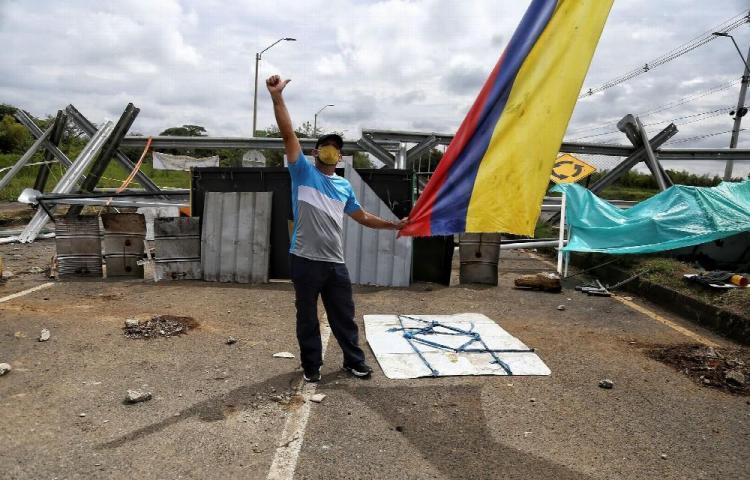 CIDH preocupada por ataque a marcha indígena en Colombia