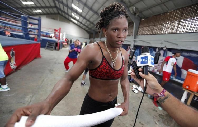La boxeadora Atheyna Bylon competirá por Panamá en Tokio 2020