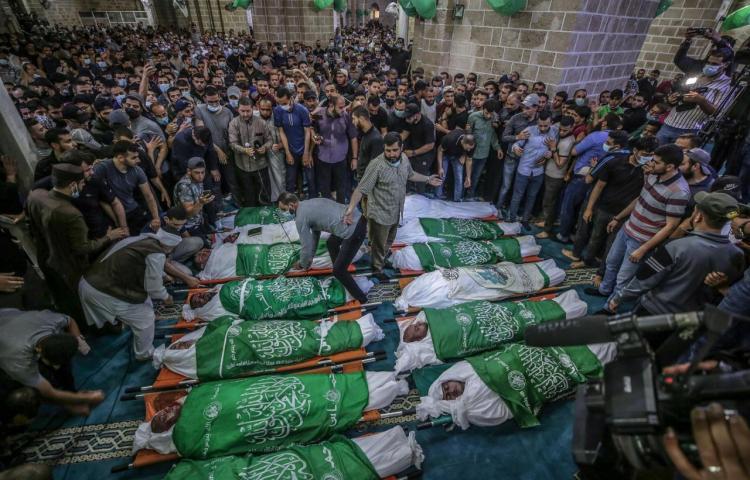 Ascienden a 87 los muertos en Gaza en la escalada de violencia con Israel