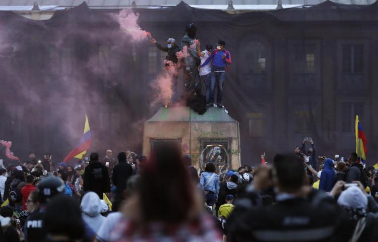 La Policía cometió 3 de los 4 asesinatos reportados en las protestas de Colombia