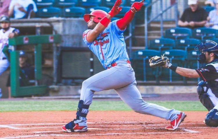Iván Herrera pega Grand Slam para hacer historia con los Springfield Cardinals