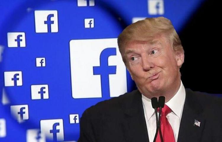 Donald Trump no podrá usar su cuenta de Facebook por dos años