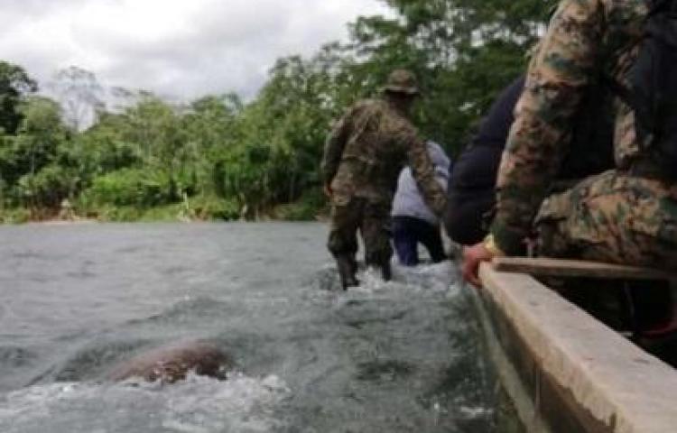 ¡Misterio! Encuentran cuerpo sin vida de niña en el río Turquesa