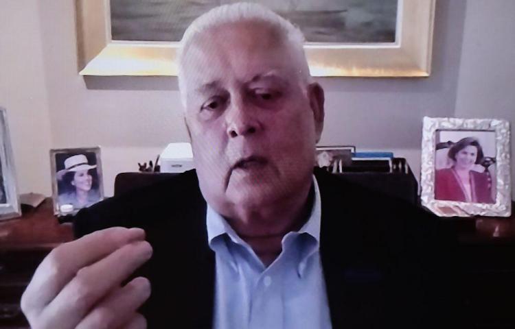 'Las deudas públicas de los países jamás se pagan, se refinancian', Ernesto Pérez Balladares
