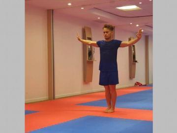 Karateca panameño va por su boleto a Tokyo