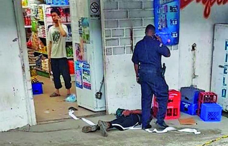 Menor de edad en líos con la justicia por robo agravado