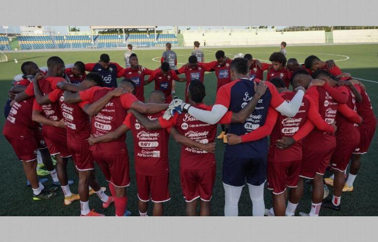 La Selección Nacional de Panamá se mide hoy a Curazao