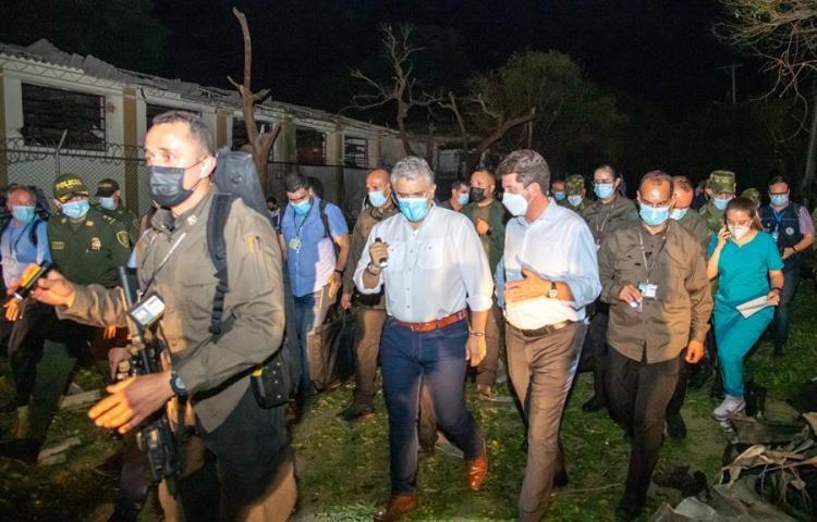 Colombia ofrece recompensa de unos $135 mil por atentado contra brigada militar
