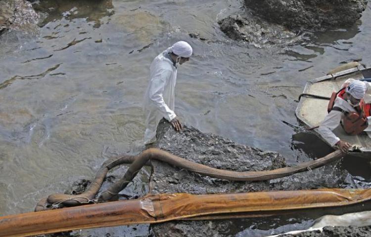 Trabajos de limpieza de Taboga tienen un 80%de avance