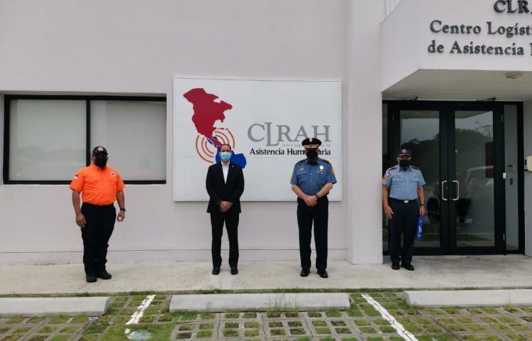 Realizan recorrido en Hub Humanitario ubicado en Panamá Pacífico