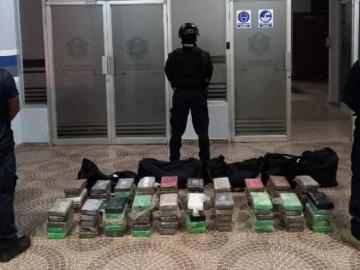 De enero a junio van 59 toneladas de droga
