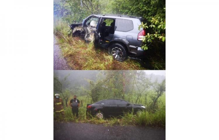 Fronterizo fallece tras accidente en la carretera de San Francisco de La Montaña en Veraguas