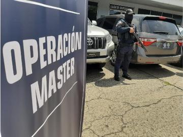 """Decretan medidas cautelares a 13 ciudadanos en caso denominado """"operación máster"""""""