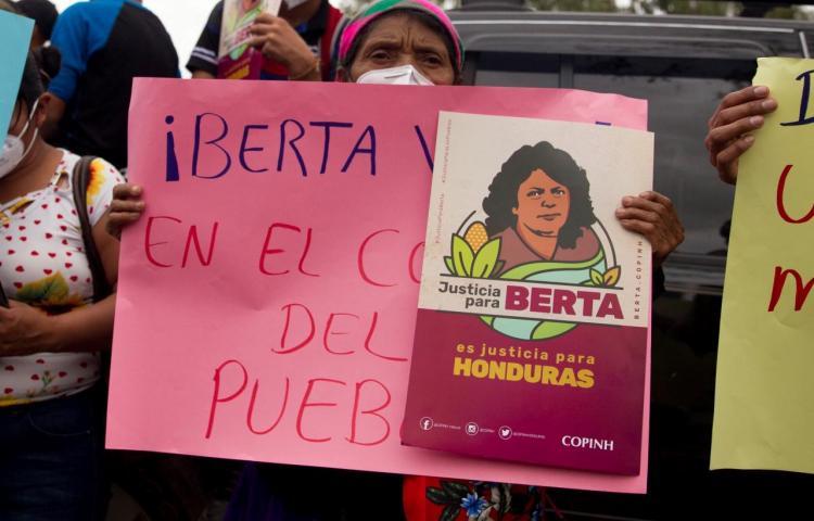 Cae pez gordo por el asesinato de la activista Berta Cáceres