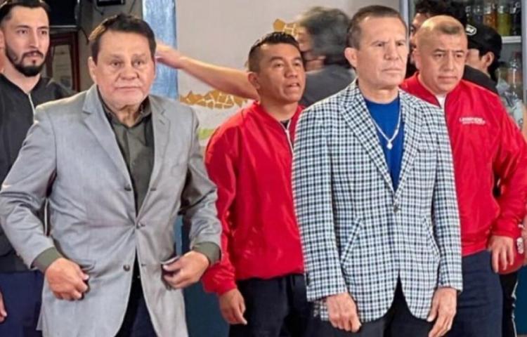 ¡Roberto Durán y Julio César Chávez cocinan un reality!