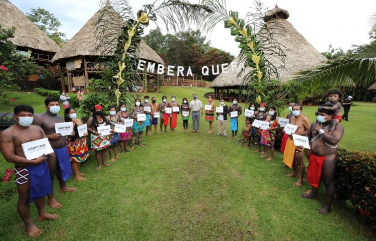 Emprendedores indígenas recibenCapital Semilla