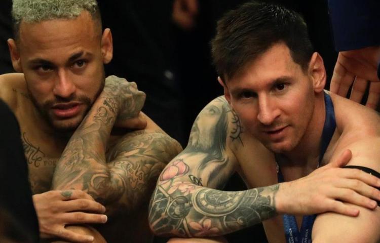 Neymar a Messi: 'Disfruta; el fútbol te estaba esperando para este momento'