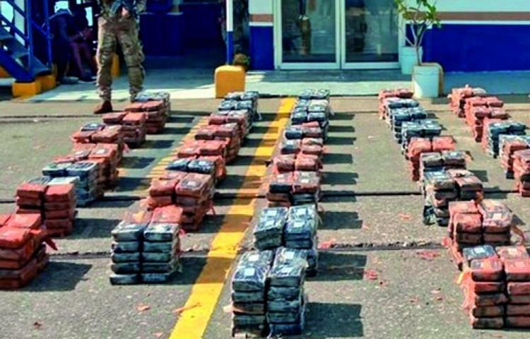 Otro duro golpe a los narcos, incautaron más de 2 toneladas de drogas en 7 días