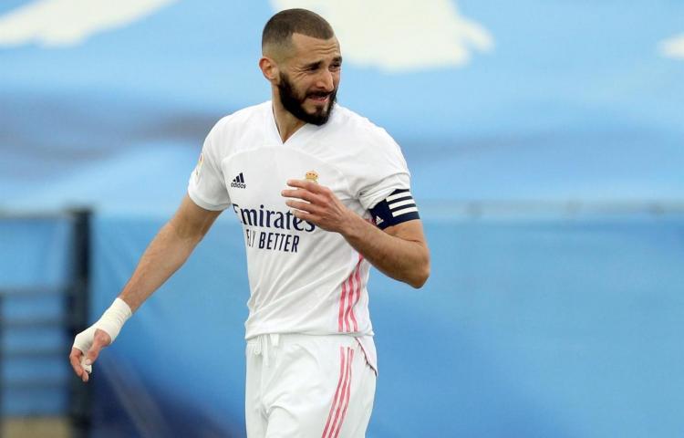 Karim Benzema, positivo por covid-19