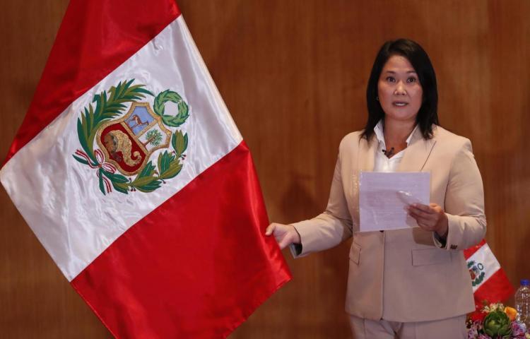 La Justicia de Perú inicia el 31 de agosto el control de la acusación contra Fujimori