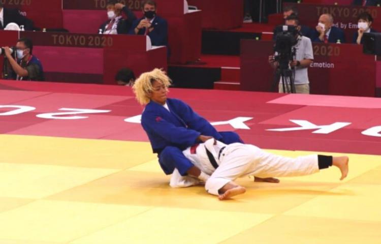 Miryam Roper cayó ante Jisu Kim en su combate de Judo