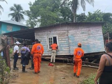 Mejora el clima en Bocas del Toro, pero se mantiene la alerta roja