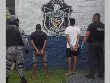 Capturados con droga en Arraiján