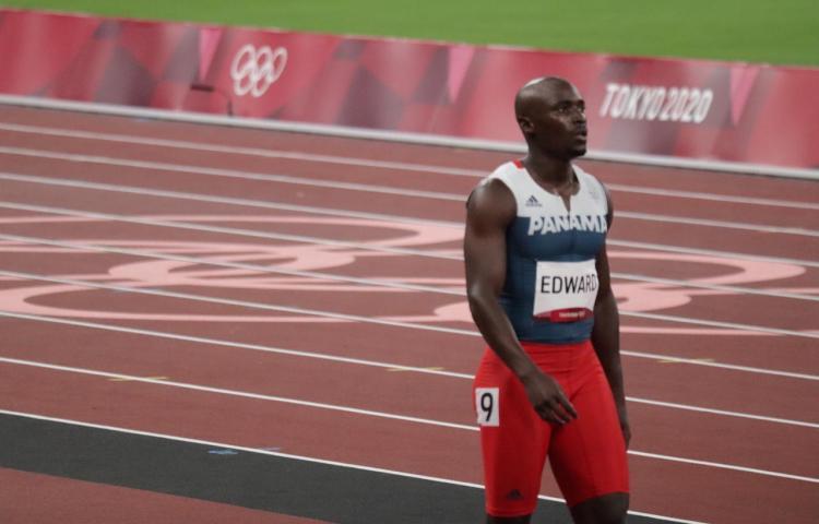Diagnóstico oficial del atleta Alonso Edward