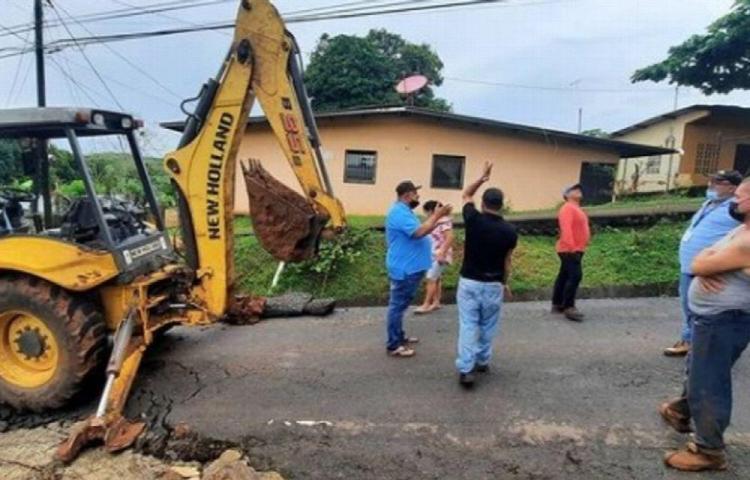 Tempestad causa estragos en comunidades de Arraiján