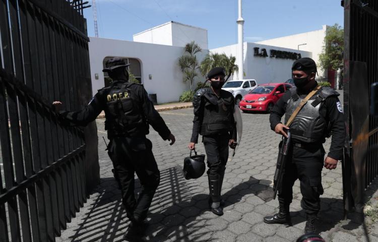 La Policía investiga a La Prensa de Nicaragua por fraude y lavado de dinero