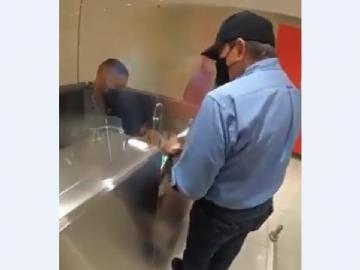 Presidente Cortizo de incógnito en el aeropuerto de Tocumen