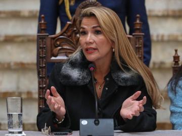 La Fiscalía boliviana presenta proposición acusatoria para juicio contra Áñez